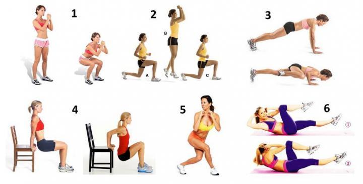 Эффективные упражнения в домашних условиях отзывы 278
